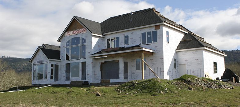 Hausbau-Versicherungsschutz