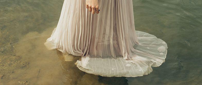 Erben- Frau in Wasser