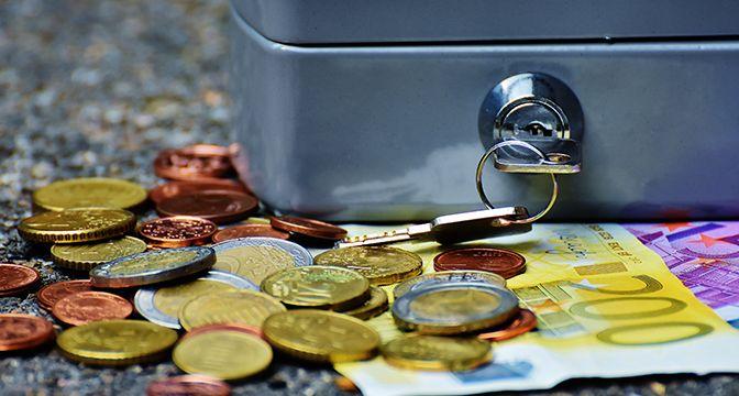 Geldversteck